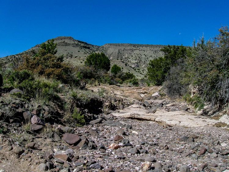 Vista near canyon start