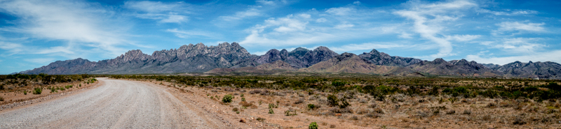 Organ Mountains, Las Cruces, NM - Panorama