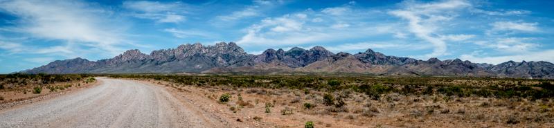 Organ Mountains, Las Cruces, NM - Panorama