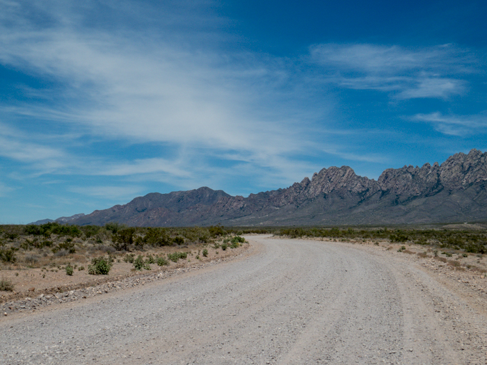 Organ Mountains, Las Cruces, NM - Panorama Picture 1