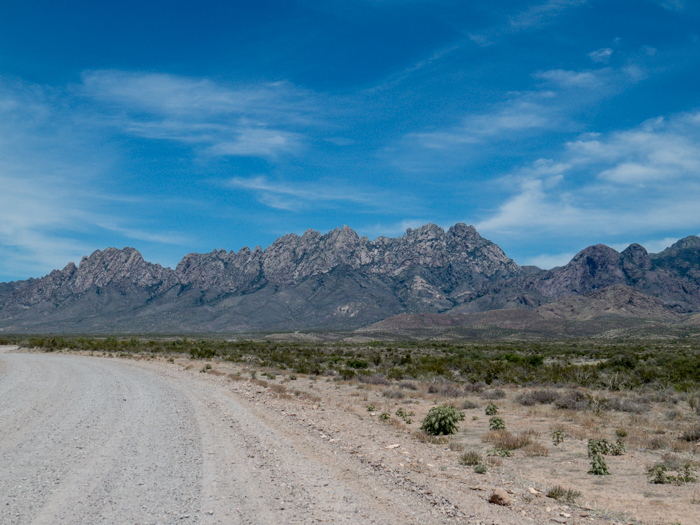 Organ Mountains, Las Cruces, NM - Panorama Picture 2