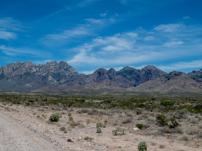 Organ Mountains, Las Cruces, NM - Panorama Picture 3