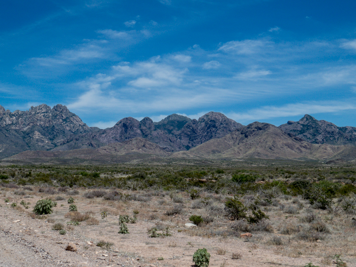 Organ Mountains, Las Cruces, NM - Panorama Picture 4