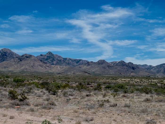 Organ Mountains, Las Cruces, NM - Panorama Picture 6