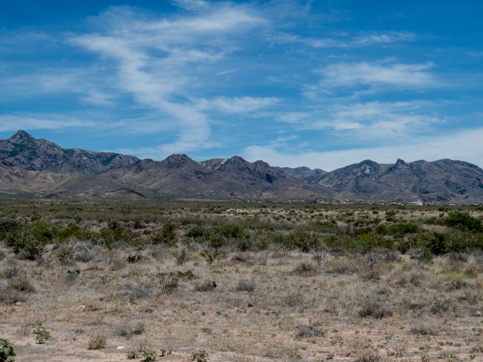 Organ Mountains, Las Cruces, NM - Panorama Picture 7