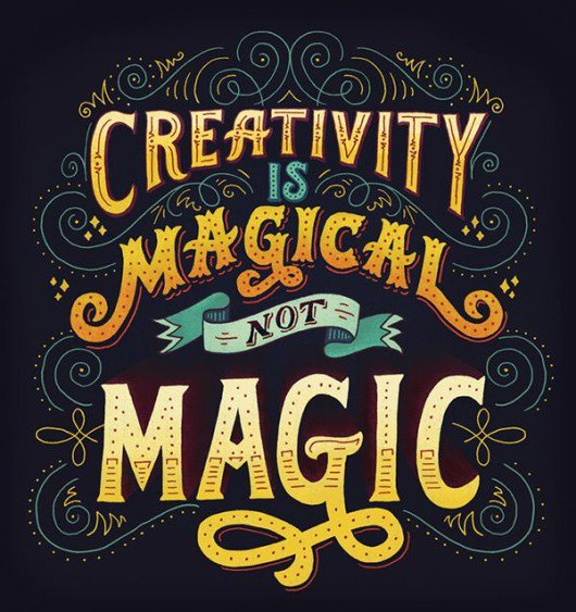 Creativity is Magical, not Magic.