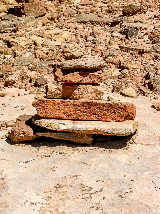 Stone Trail Cairn Marker