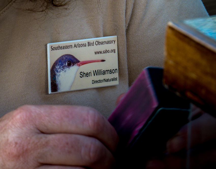 Sheri Willaimson's name badge