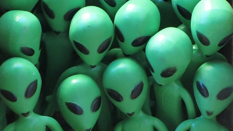 Aliens - Image courtesy Interdimensional Guardians via Flickr Creative Commons