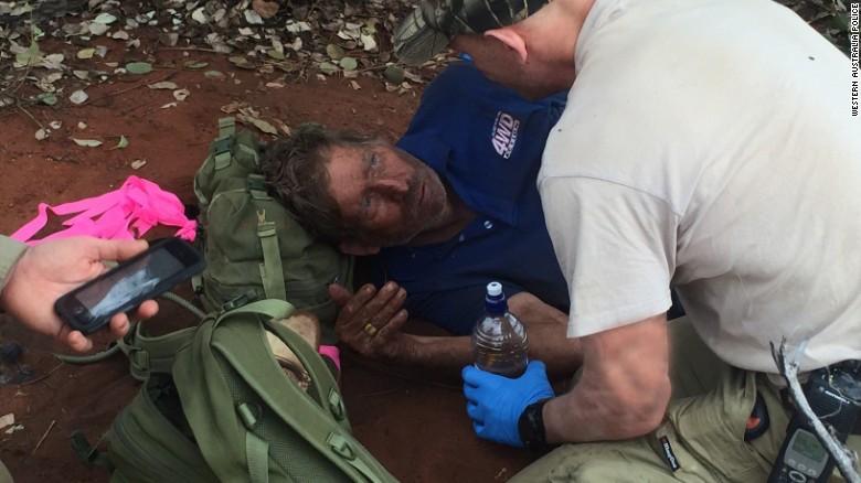 Reginald Foggerdy Survives in the Australian Desert