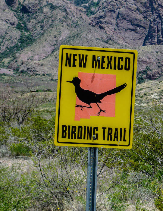 NM Birding Trail Sign