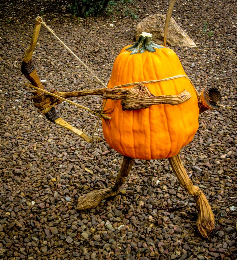 William Tell-like pumpkin
