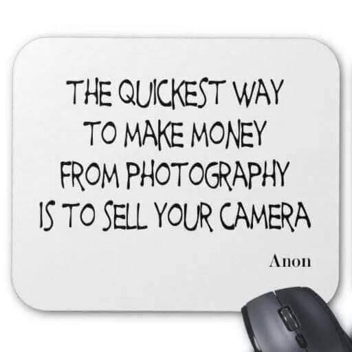 Quote - To Make Money in Photography...