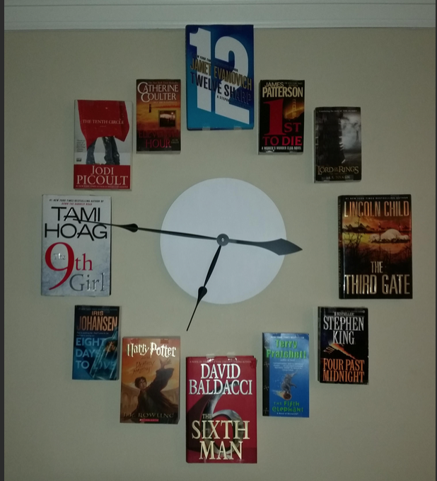 Clock of Books