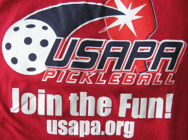 USAPA Pickleball T-Shirt Logo