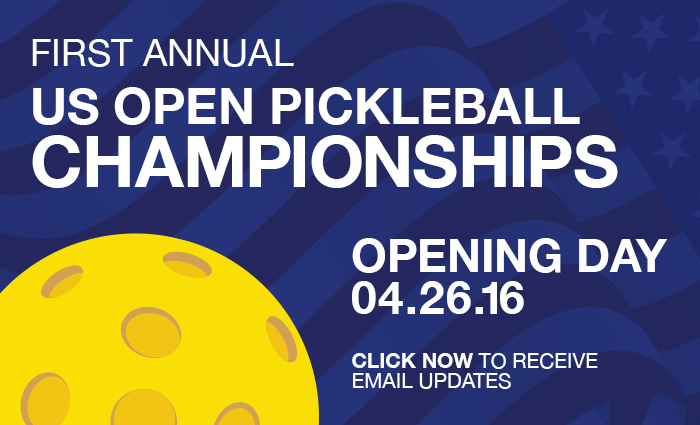 First Annual Pickleball Championship