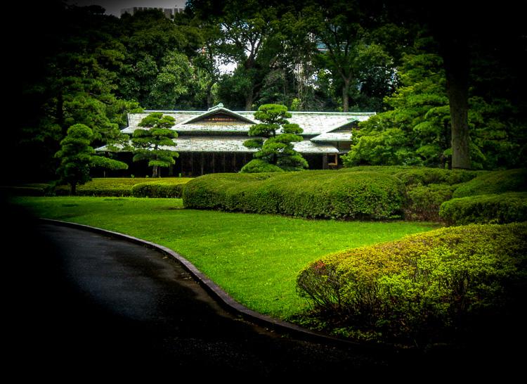 East Garden reconstructed tea house