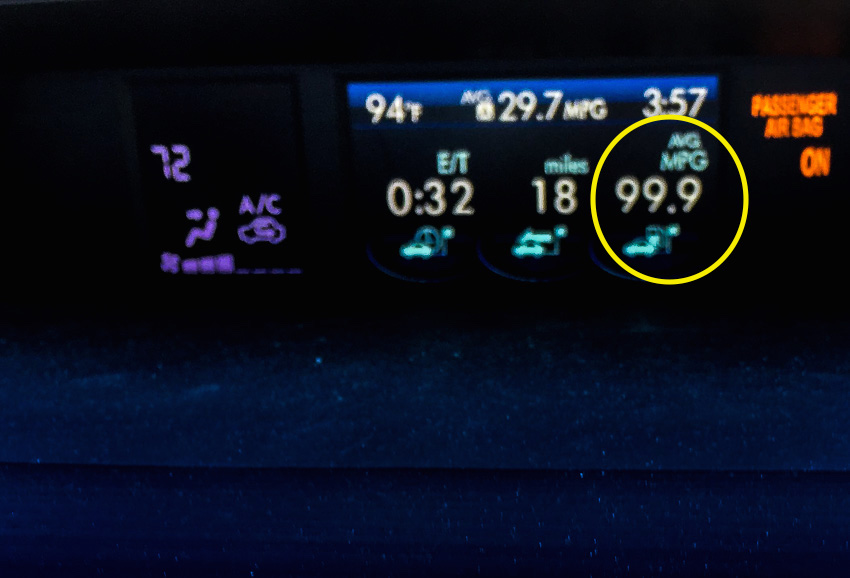 99 MPG - WOW!