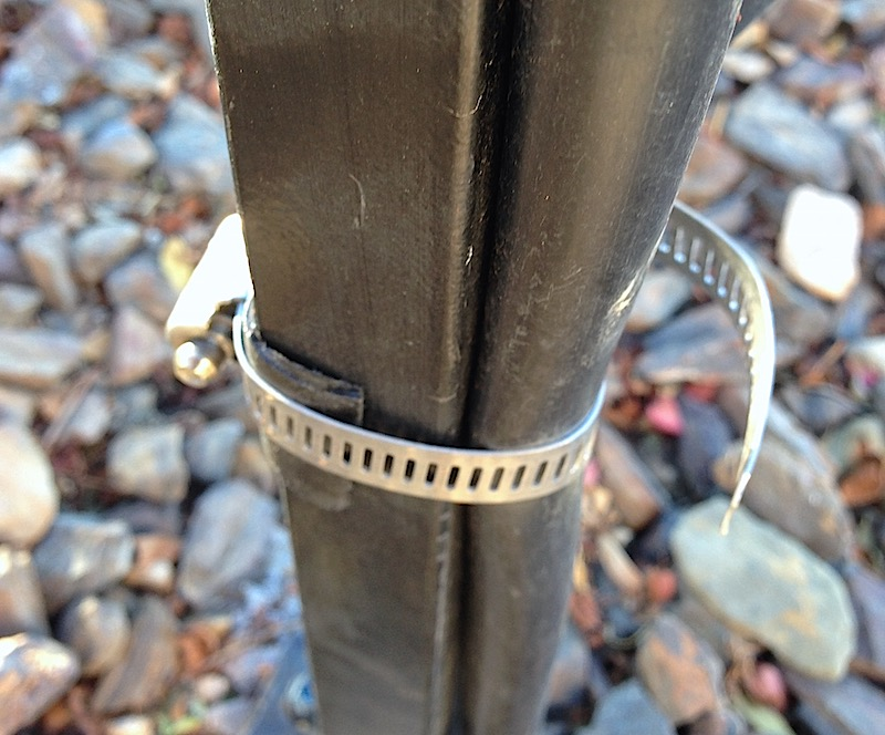 Tightness of hose clamp