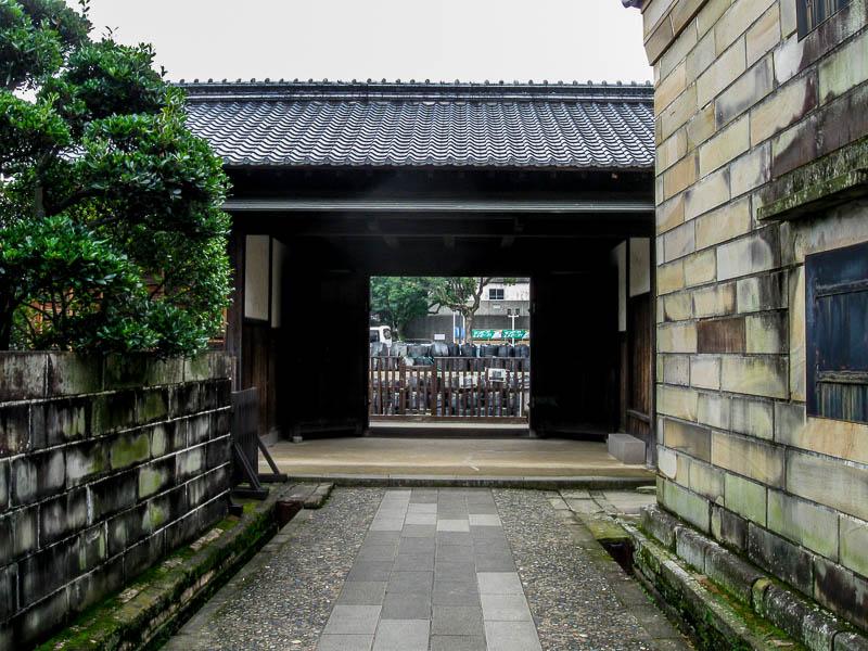 A portal to Dejima, Japan