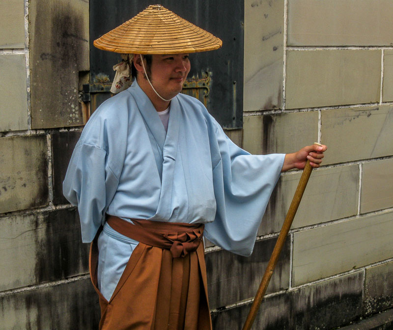 Traditional clothing of Dejima, Japan