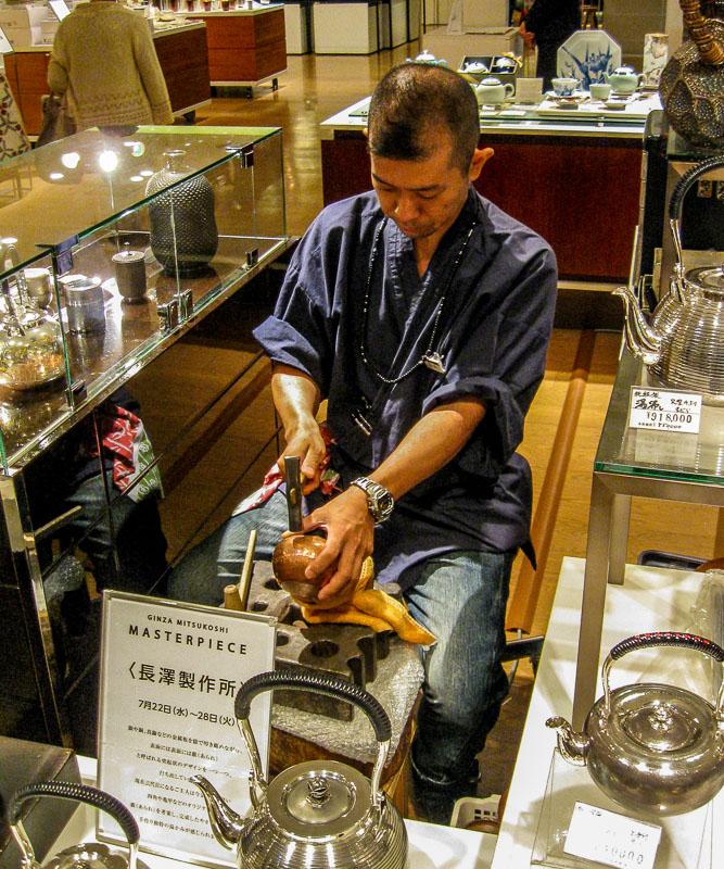 Teapot craftsman