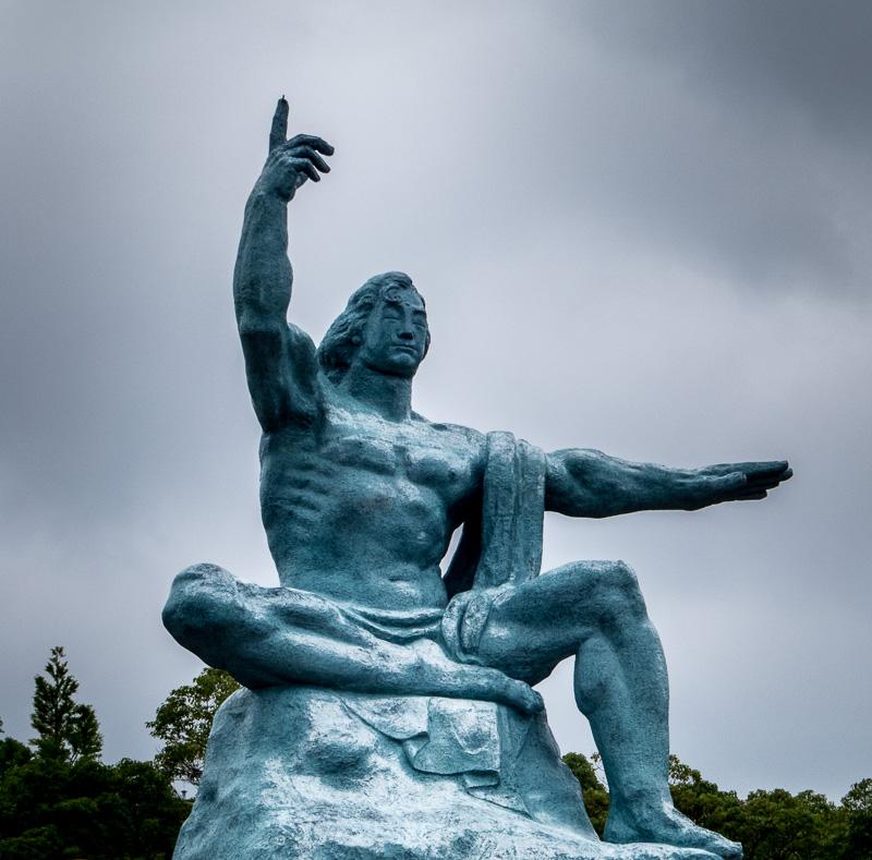 The Prayer Monument for Peace, Nagasaki