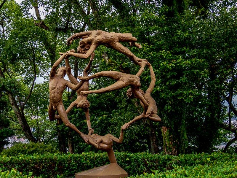 Peace Park Statue from Minnesota, USA