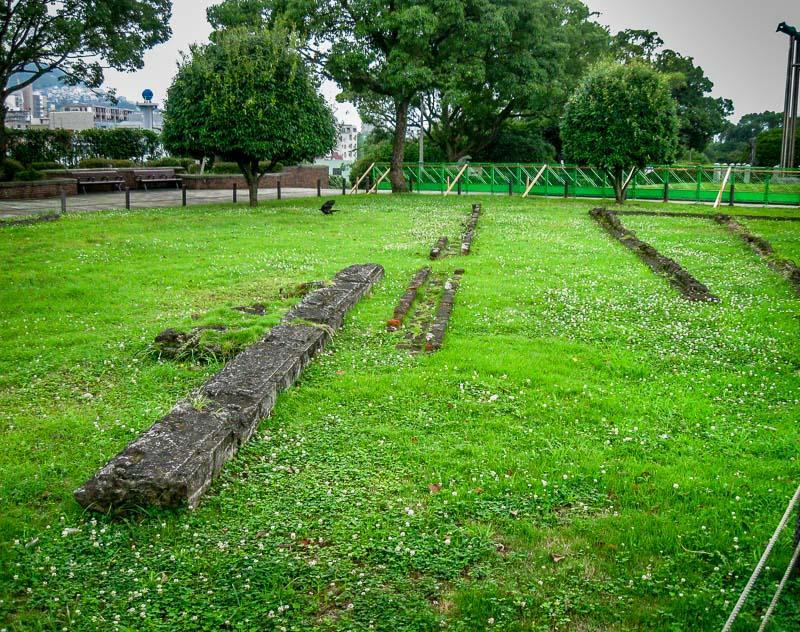 ruins of the Urakami Branch of Nagasaki Prison