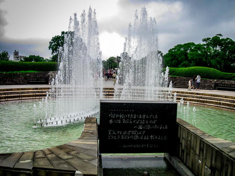 Fountain of Peace, Nagasaki