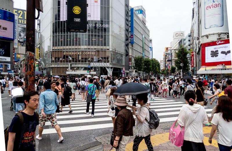 Shibuya Station Crosswalk