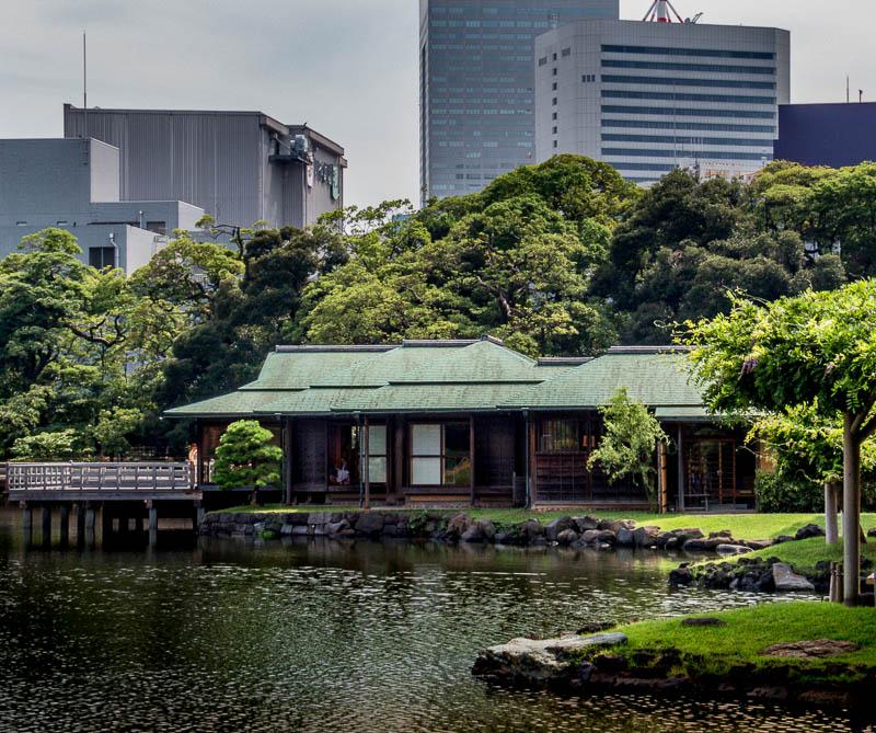 Hama-rikyu Gardens Old-style building