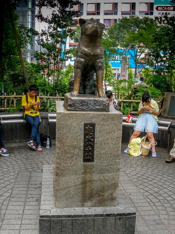 Shibuya Station Park - Hachi Statue