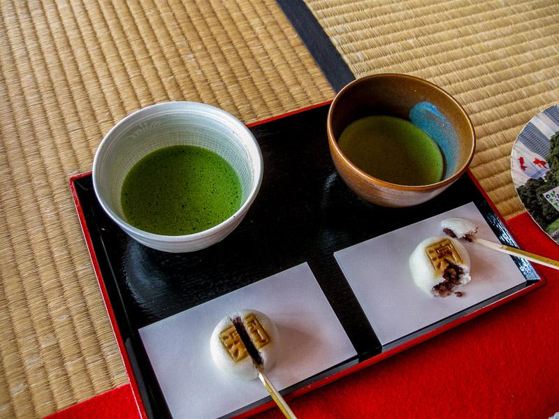Tea House Green Tea and Cake