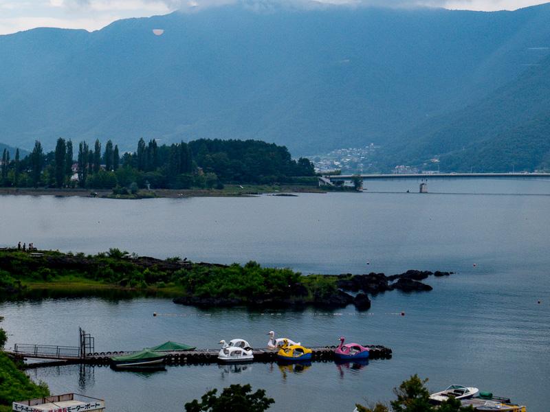 A View of Lake Kawaguchi up Close