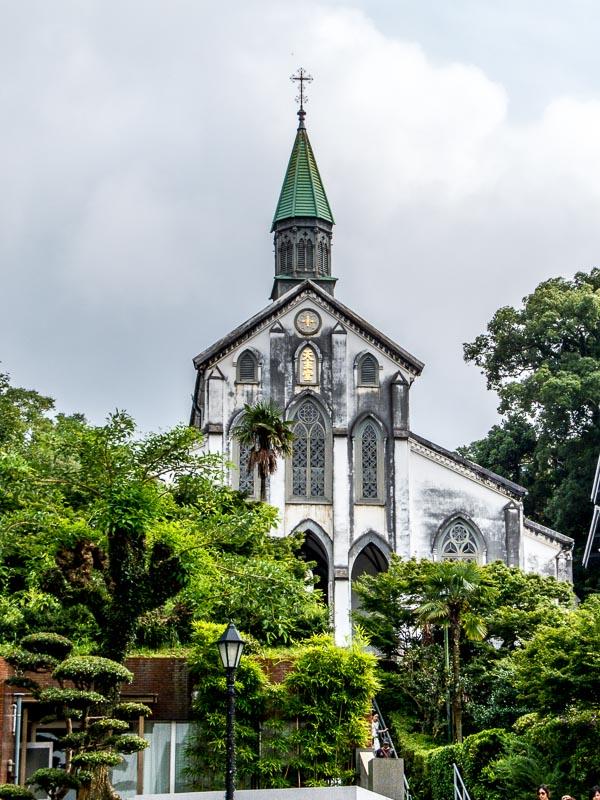 Oura Catholic Church near Glover Garden, Nagasaki