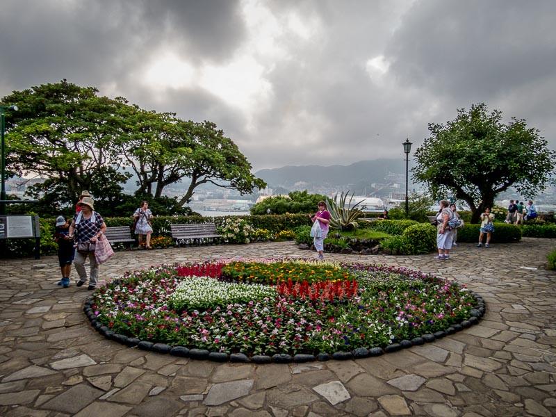 One of a number of smaller display gardens Glover Garden, Nagasaki