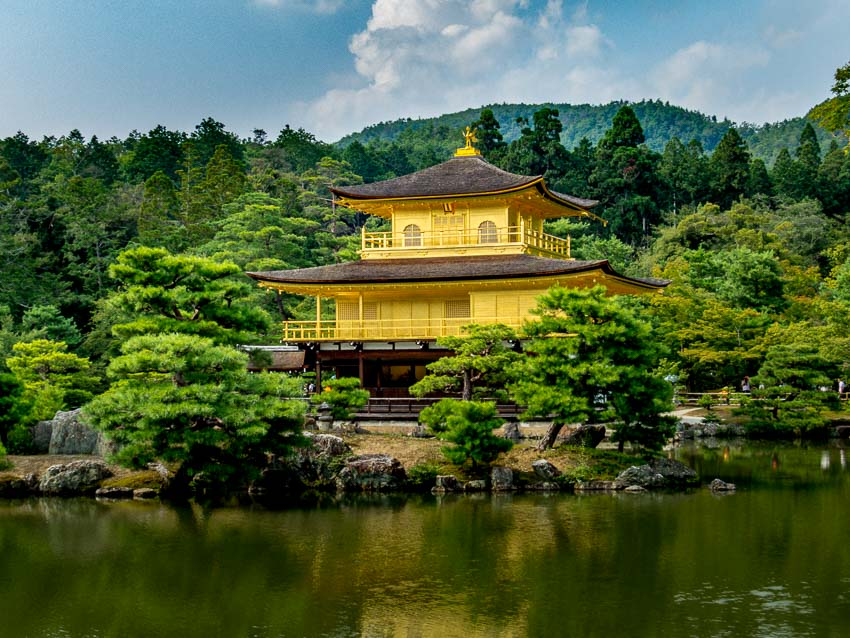 Golden Pavilion - Kyoto, Japan