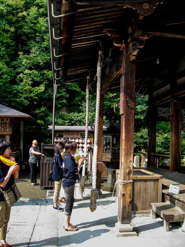 Fudo Hall, Golden Pavilion compound - Kyoto, Japan