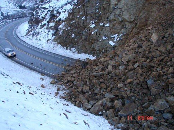 Huge Landslide in the state of Washington