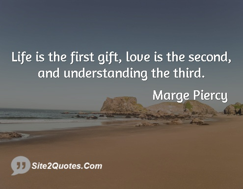 Picture Quote - Gifts