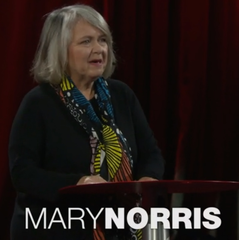 Copy Editor Mary Norris