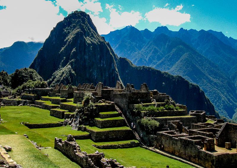 Machu Pichu taken with the PowerShot A590