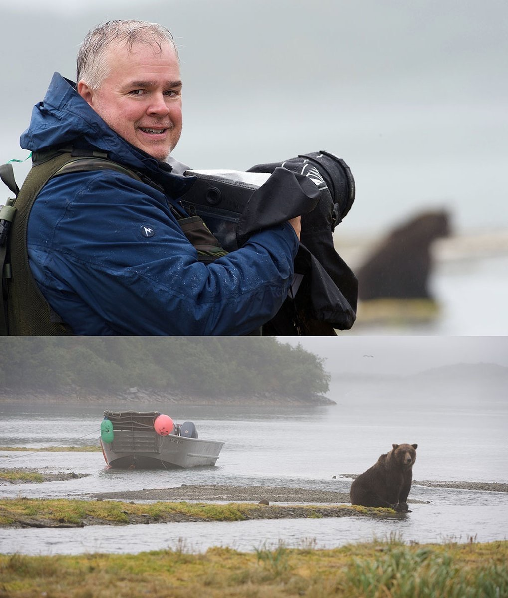 Scott Bourne Photographing a Bear