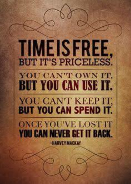 Time is...