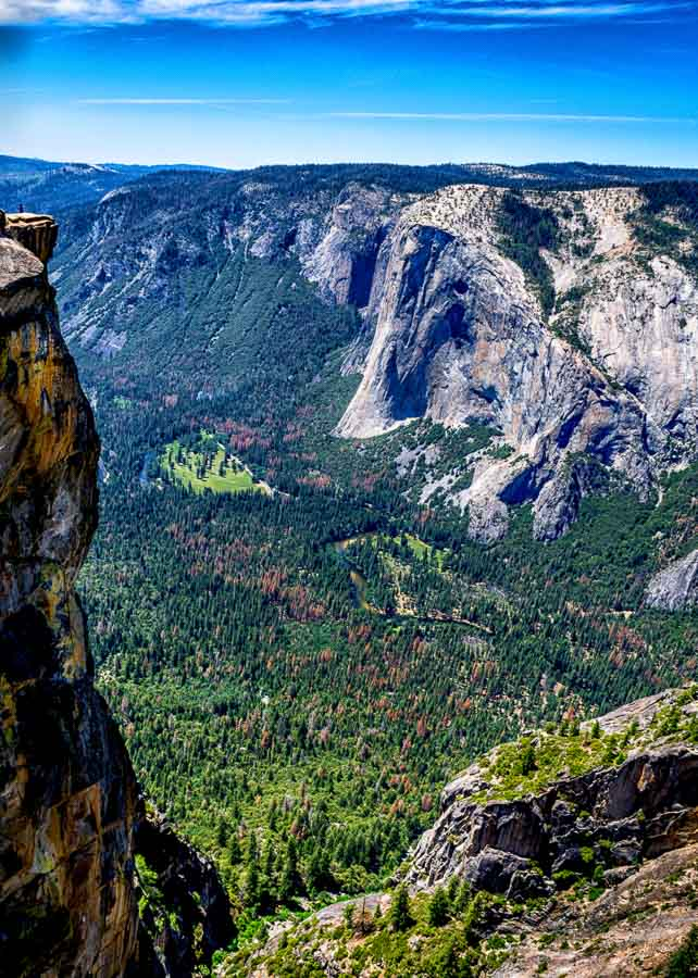 Rock Formations - Taft Point Trail