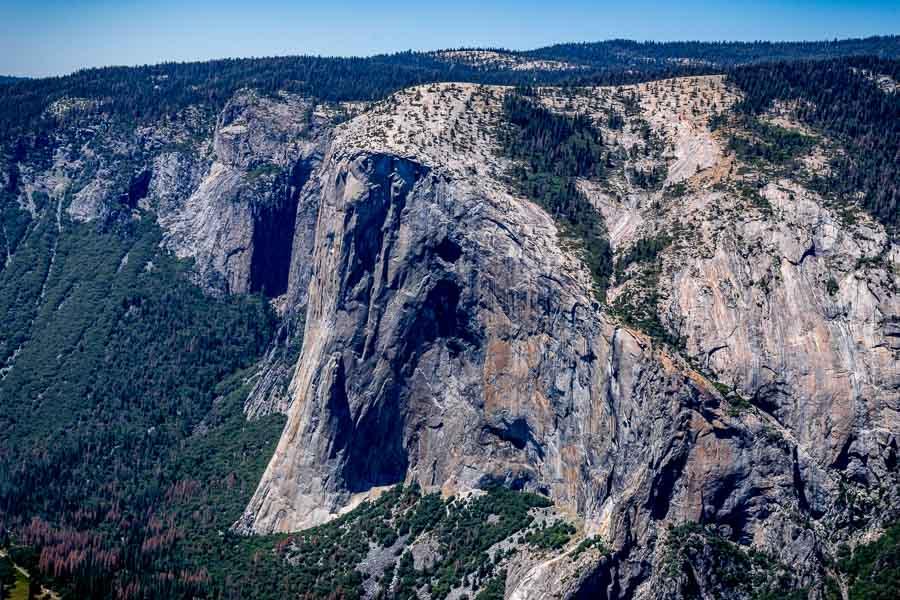 El Capitan from Taft Trail