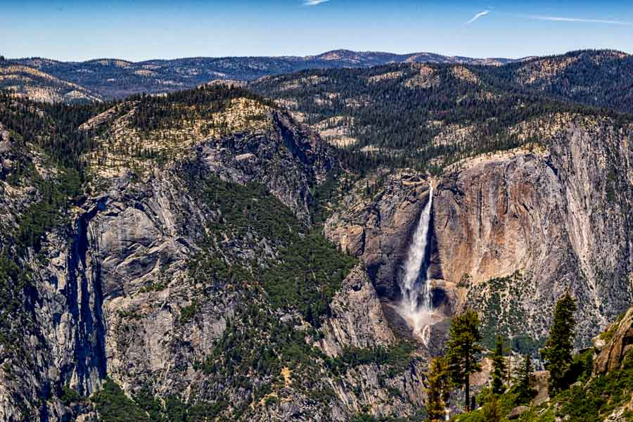 Yosemite Falls from Taft Point