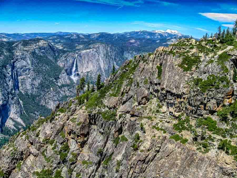 Yosemite Falls from Taft Point
