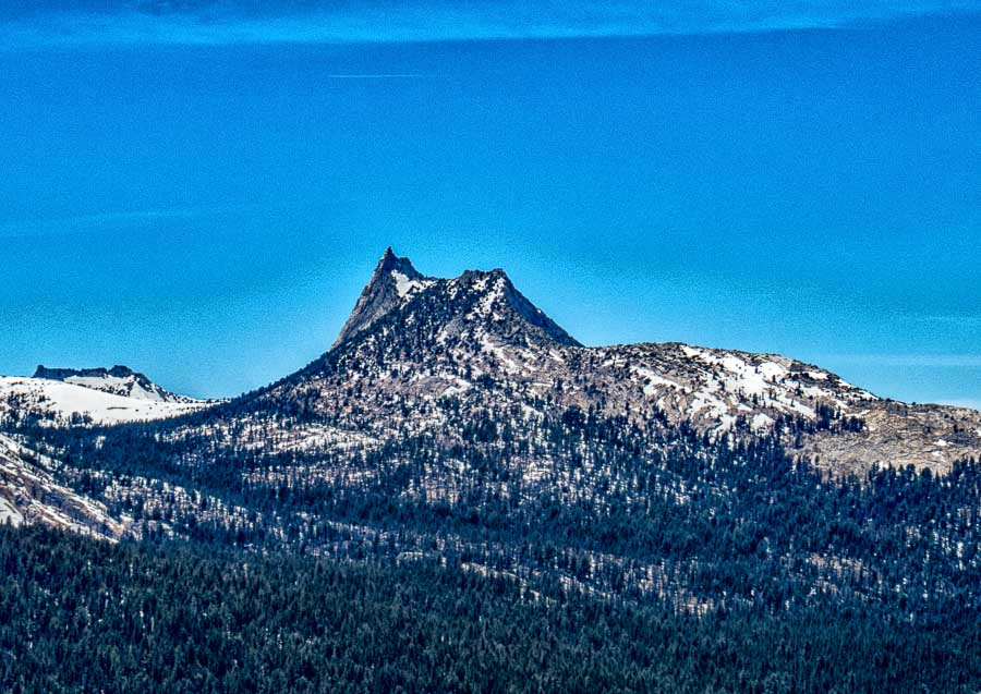 athedral Peak from Sentinel Dome